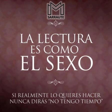 LECTURA Y SEXO